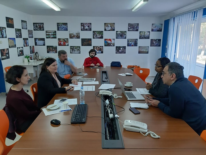 American professors Visiting IBSU: Working on a new Master program
